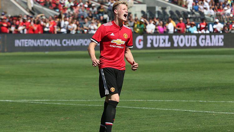 Gelandang muda Manchester United, Scott McTominay. Copyright: © Indosport.com