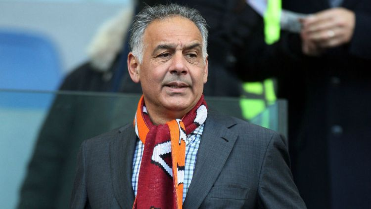 Presiden AS Roma, James Pallotta. Copyright: © Alchetron