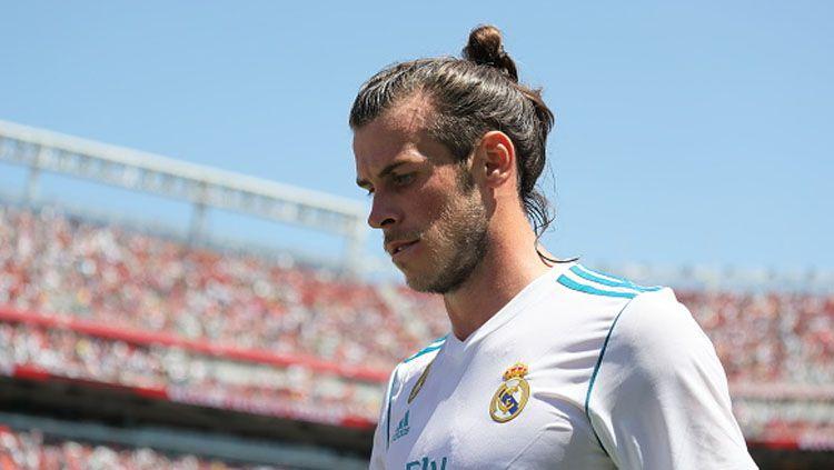 Pemain sayap Real Madrid, Gareth Bale. Copyright: © Indosport.com