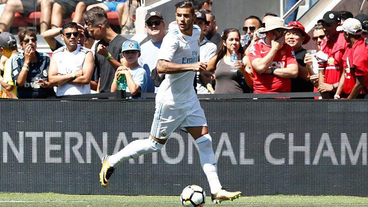 Bek baru Real Madrid, Theo Hernandez. Copyright: © INDOSPORT