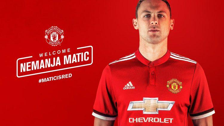 Nemanja Matic resmi dipinang Manchester United. Copyright: © INDOSPORT