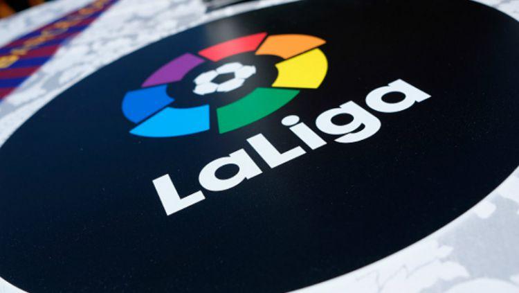 Logo La Liga. Copyright: © INDOSPORT