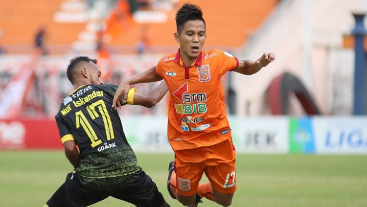 Pusamania Borneo vs Sriwijaya FC Copyright: © twitter@Liga1Match
