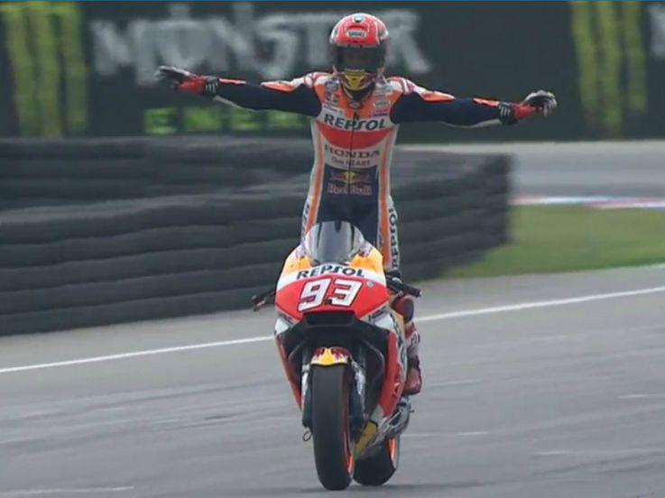 Jadi Jawara, Ini Kemenangan Kedua Marquez di Ceko