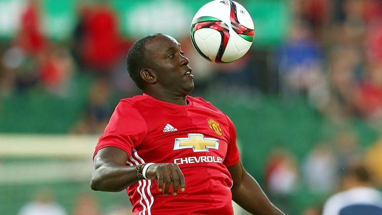 Legenda Manchester United, Dwight Yorke. Copyright: © Getty Images