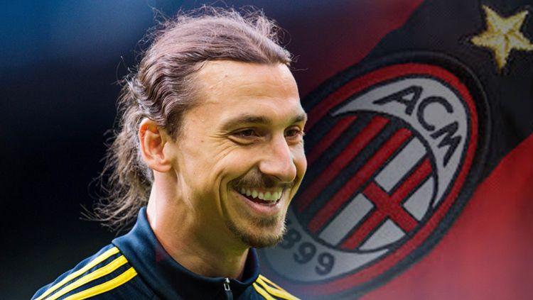 Zlatan Ibrahimovic diklaim akan sukses di AC Milan meski usianya tak lagi muda. Copyright: © Getty Images