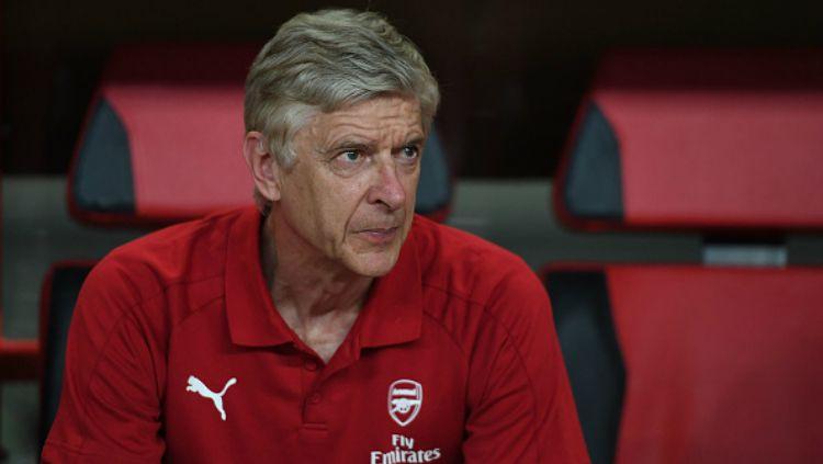 Pelatih Arsenal, Arsene Wenger. Copyright: © Indosport