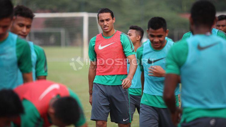 Latihan terakhir Timnas U-22. Copyright: © Herry Ibrahim/Indosport.com