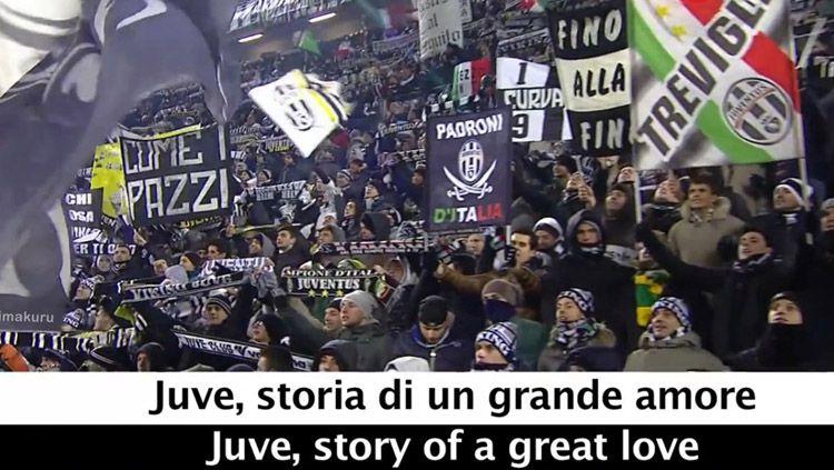 Fans Juventus. Copyright: © BimaKuruBlog