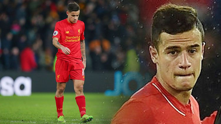 Gelandang Liverpool, Philippe Coutinho. Copyright: © INDOSPORT