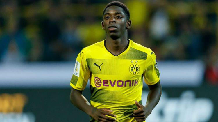 Ousmane Dembele, bintang muda Borussia Dortmund. Copyright: © INDOSPORT
