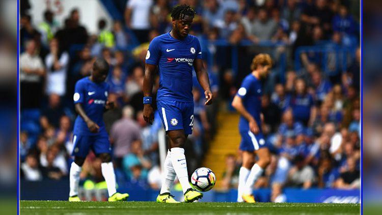 Chelsea vs Burnley. Copyright: © INDOSPORT