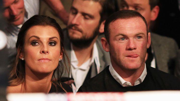 Coleen Rooney dan Wayne Rooney. Copyright: © Getty Images