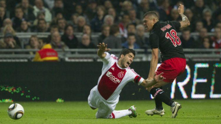 Luis Suarez saat masih membela Ajax Amsterdam. Copyright: © Getty Images