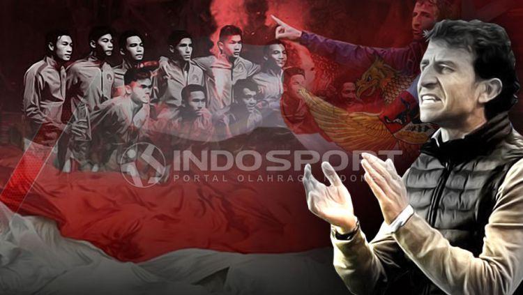 Timnas U-22 dan Luis Milla Copyright: © Grafis:Yanto/Indosport.com