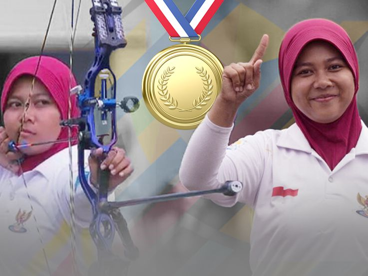 Sri Ranti Persembahkan Emas Pertama di SEA Games