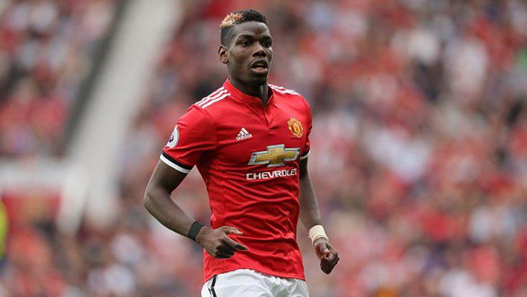 Paul Pogba, pemain termahal milik Man United. Copyright: © INDOSPORT
