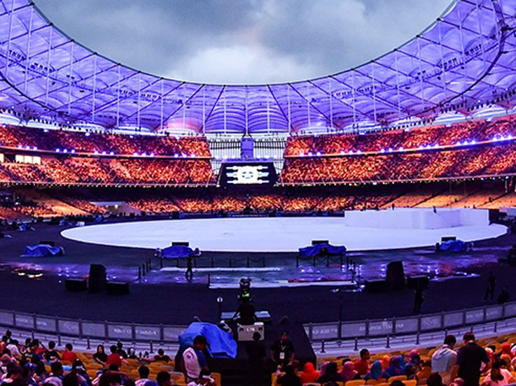 SEA Games 2017: Medali Indonesia Masih di Bawah Malaysia