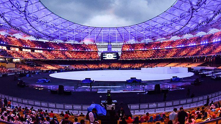 Suasana upacara pembukaan SEA Games 2017. Copyright: © www.kualalumpur2017.com.my