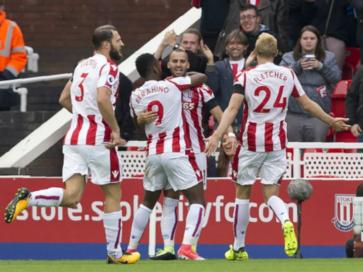 Stoke 1-0 Arsenal: Gol Debut Rodriguez Bungkam Arsenal!