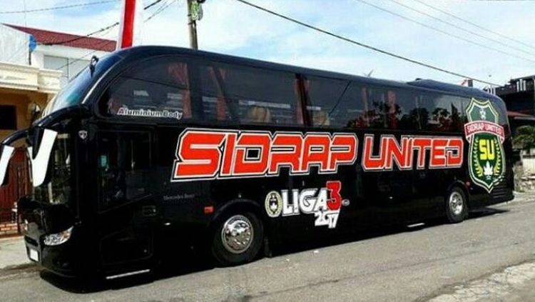 Bus Sidrap United Copyright: © Pijarnews.com