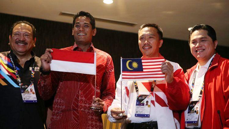 Pemerintah Malaysia minta maaf ke Indonesia. Copyright: © INASGOC
