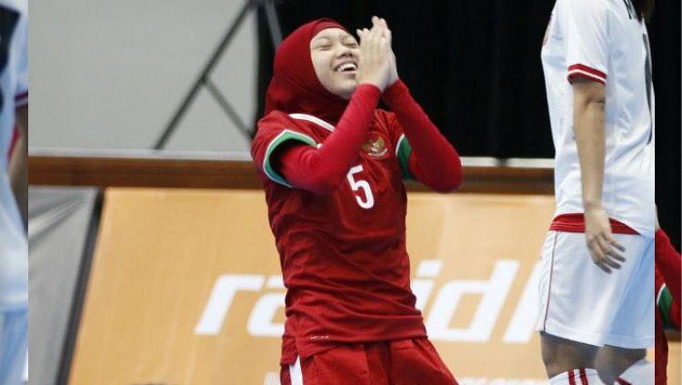 Timnas Futsal Putri mendapatkan kemenangan kedua di SEA Games 2017. Copyright: © Instagram @timnasfutsal