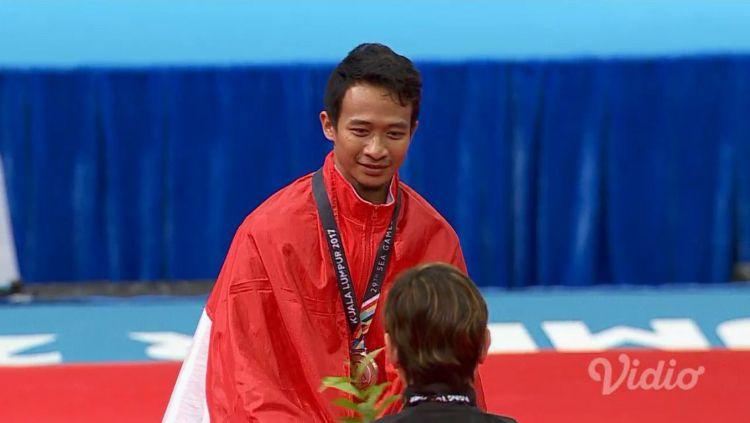 Kisah Agus Prayoko, Peraih Medali Emas SEA Games 2019 yang Terjerumus dalam 'Jebakan'. Copyright: © Vidio.com