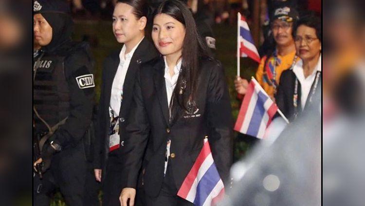 Sirivannavari Nariratana, atlet berkuda sekaligus anak raja di Thailand. Copyright: © Instagram RoyalWorldThailand