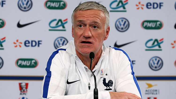 Didier Deschamps, pelatih Timnas Prancis. Copyright: © Getty Images