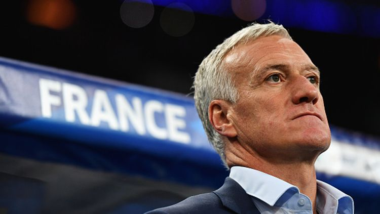 Didier Deschamps, pelatih Timnas Prancis. Copyright: © INDOSPORT