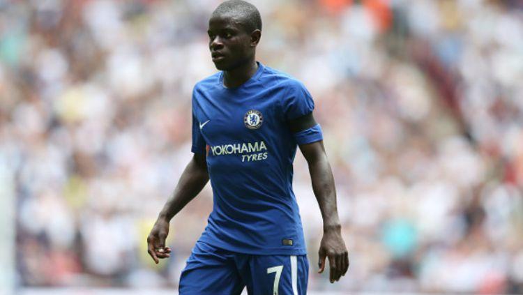N'Golo Kante, gelandang bertahan Chelsea. Copyright: © INDOSPORT