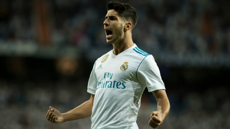 Marco Asensio, pemain bintang muda Real Madrid. Copyright: © INDOSPORT