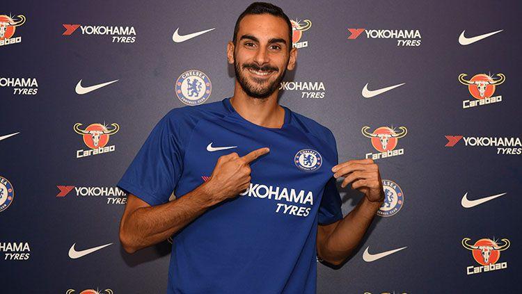 Davide Zappacosta beri pesan berkelas ke Chelsea usai resmi bergabung dengan AS Roma. Copyright: © Chelsea