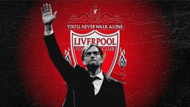 Jurgen Klopp layak dijadikan pahlawan usai sukses membawa Liverpool juara Liga Inggris dengan revolusi taktiknya. Copyright: © footyroom