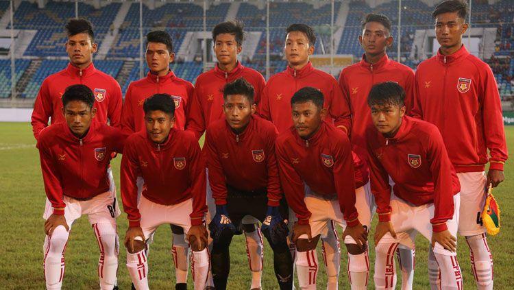 Skuat Timnas Myanmar U-19 dikabarkan melakukan TC di Jepang. Copyright: © Myanmar Football Federation