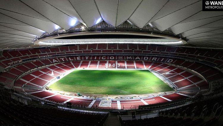 Stadion Wanda Metropolitano. Copyright: © dailymail.co.uk