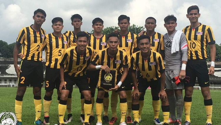 Skuat Timnas Malaysia U-19. Copyright: © Twitter@FAM_Malaysia