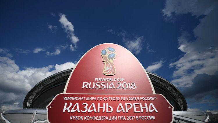Logo Piala Dunia 2018. Copyright: © INDOSPORT