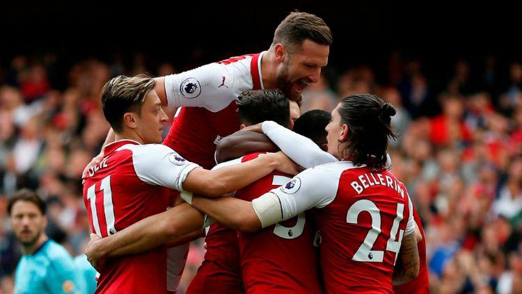 Dikuasai Arsenal, berikut deretan pemain yang mampu mencetak 4 assist dalam 1 pertandingan Liga Inggris Copyright: © Twitter/Squawka News