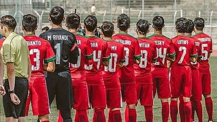 Skuat Timnas Indonesia U-19. Copyright: © Istimewa