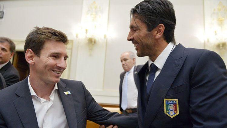 Barcelona Ditekuk Juventus, Bukti Lionel Messi Takut dengan Buffon Copyright: © Skysport