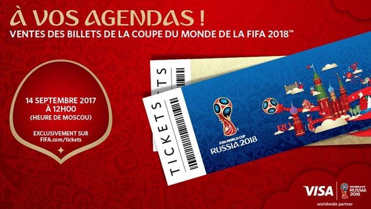 Tiket Piala Dunia 2018 Rusia. Copyright: © Fifa.com