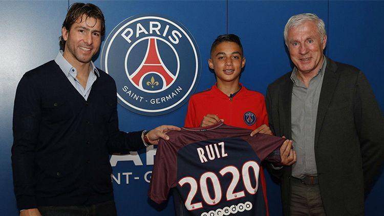 Kays Ruiz, pemain berusia 15 tahun yang dikontrak PSG. Copyright: © sport.es