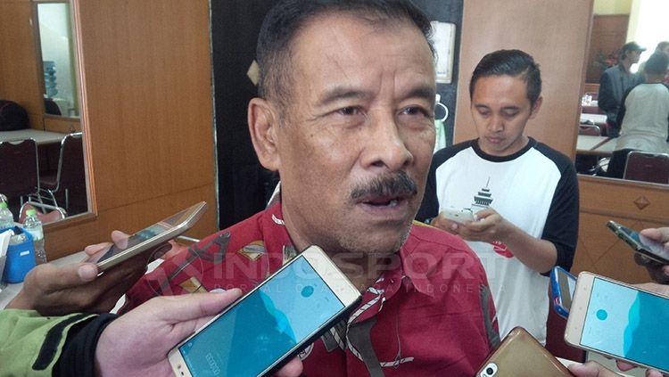 Manajer Persib Bandung, Umuh Muchtar. Copyright: © Arif Rahman/INDOSPORT