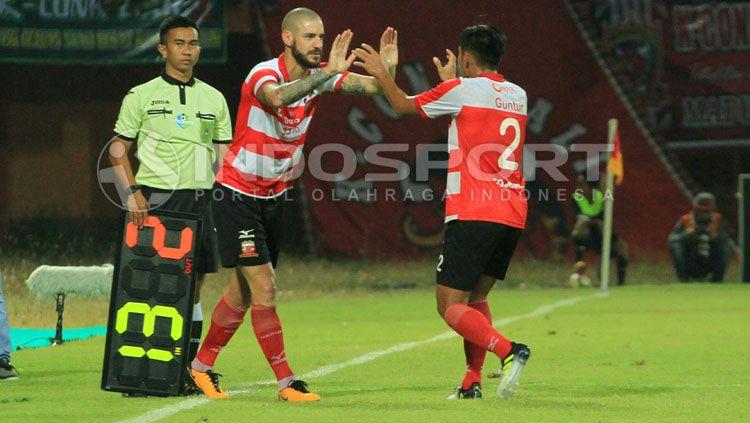 Dane Milovanovic akhirnya resmi dilepas oleh Madura United jelang Liga 1 2019. Copyright: © Ian Setiawan/INDOSPORT