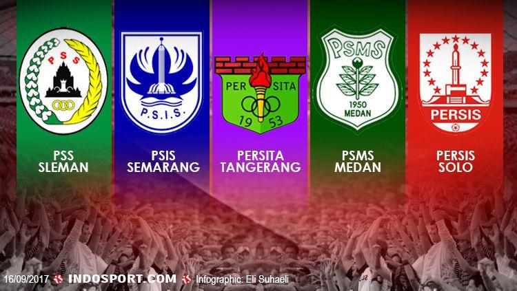 Klub Liga 2 Indonesia. Copyright: © Grafis: Eli Suhaeli/INDOSPORT