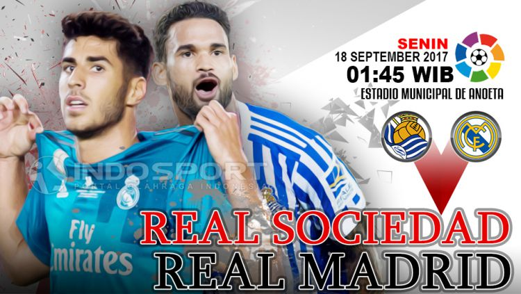 Real Sociedad vs Real Madrid. Copyright: © Grafis: Eli Suhaeli/INDOSPORT