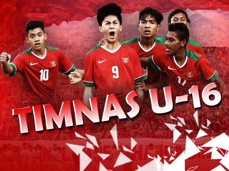 Jadwal dan Live Streaming Indonesia U-16 vs Laos U-16