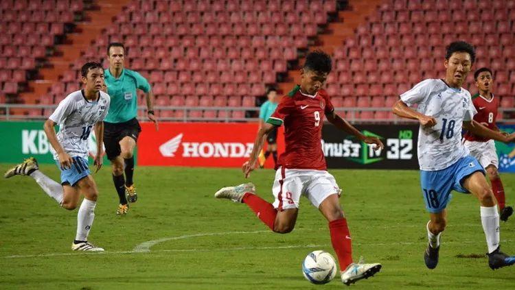 Sutan Zico, striker andalan Timnas U-16. Copyright: © INDOSPORT